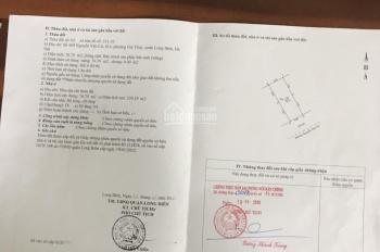 Chính chủ cần bán nhà 4,5tầng mặt phố Nguyễn Văn Cừ diện tích 76,7m2, MT 5m, giá 19,9 tỷ 0975960803