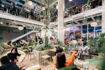 Cho thuê mặt bằng kinh doanh đắc địa nhất phố Thái Hà - Tây Sơn, mặt tiền 12m, dt 80m2