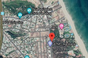 Đất biển mặt tiền Trường Sa, Hòa Hải, Ngũ Hành Sơn, Đà Nẵng, đất ở lâu dài, giá bán sập hầm