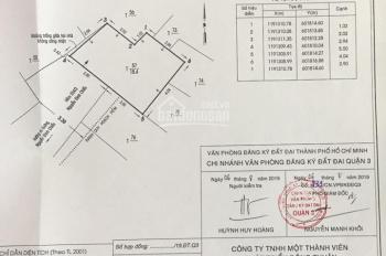 Nhà 554/2/6 Nguyễn Đình Chiểu, P4, Q3, DT: 4x5m 1 lầu hẻm 4m, 3,2 tỷ