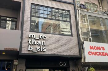 Cho thuê nhà MT phố Wall, MT trung tâm Q1 cách chợ Bến Thành 50m. DT 4x14m 3 tầng giá chỉ 55tr/th