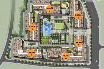 Bán căn hộ Akari City 56m2 hướng nam tầng đẹp, full giá 2.08 tỷ