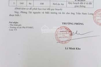 Gia đình kẹt tiền cần bán gấp tái định cư Lộc An, giá 830 triệu