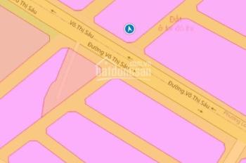 Đất sào trung tâm TP Bà Rịa tổng DT: 1447m2 thổ cư 300m2 ngang 53m dài 22m