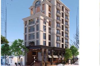 Bán tòa nhà văn phòng 10 tầng, MT 9m, 171m2. Mặt phố Nguyễn Ngọc Vũ, cho thuê 230tr/th