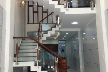 Cần bán gấp căn nhà mặt tiền Hưng Phú, cách chợ Xóm Củi 200m, DT: 4x16m, 1 trệt, 4 lầu