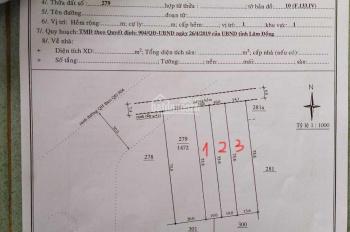 Bán 3 lô đất ngay đầu hẻm 234 Lê Phụng Hiểu, Bảo Lộc 10x74m, thổ cư riêng (xem video)