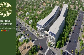 Bán gấp nhà phố 1 trệt 2 lầu 73m2 mặt tiền đường Bùi Thị Xuân(22m) P.Tân Bình TP Dĩ An, Bình Dương