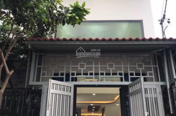Nhà bán 1 lửng 1 lầu, hẻm 6m. DT: 3,8 x17m, sổ hồng, giá 3,58 tỷ, Dương Thị Mười vô 100m, Q12