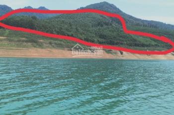 Bán 21 ha đất lòng hồ Sông Đà đất đẹp để làm du lịch nghỉ dưỡng