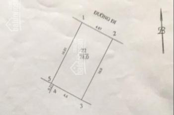 Bán đất phân lô mặt ngõ 3 ô tô tránh nhau phố Dương Khuê khu X4 - X5, DT 80m2, MT 5m làm VP, CT
