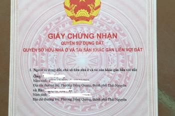 Thanh lý nhà mặt công viên có thể vừa ở vừa kinh doanh tại thành phố Thái Nguyên