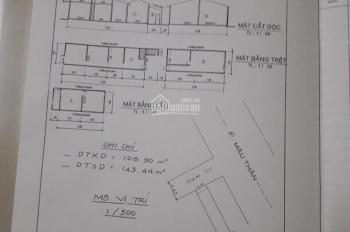 Chính chủ gửi do định cư ra nước ngoài cần bán nhà hẻm Công Chức Mậu Thân, phường Xuân Khánh, TpCT