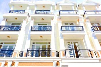 Nhà 3 lầu mới hoàn thiện ngay cầu Bình Lợi, Sau Giga Mall Phạm Văn Đồng, đường nhựa 10m