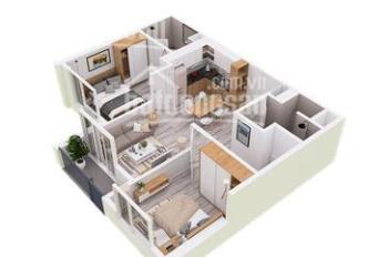 Bán 60m2 ban công Đông Bắc tầng đẹp full nội thất giá 1,51tỷ bao phí sang tên, LH 0948014568