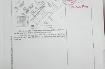 Chính chủ bán nhà mặt tiền đường Ngô Chí Quốc quận Thủ Đức