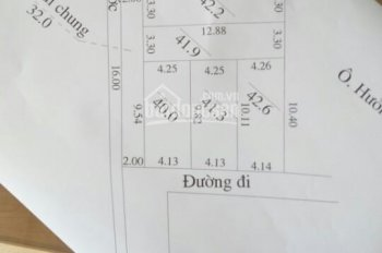 Mở bán 5 lô đất tại Đức Thượng, Hoài Đức, giá từ 900 triệu/lô, LH 0989653355