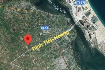 Bán lô đất trung tâm Cam Lâm cách Đinh Tiên Hoàng 1 phút - chỉ 6.7tr/m2. Full thổ