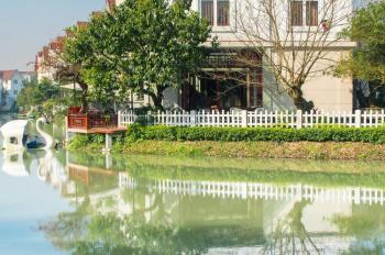 Bán gấp biệt thự Hoa Lan 8 - 16, view vườn hoa, 393,5m2, 25 tỷ, vị trí nội khu, view ngã 3 sông