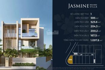 Mua biệt thự Lancaster Eden An Phú, Q2, loại Jasmine, 595m2, 3 tầng