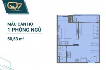 Căn hộ Quận 7, ngay mặt tiền, 50m2 nhà mới, giá bán 2.3 tỷ, đã trả Hưng Thịnh 1.5tỷ, 0938295519 chủ