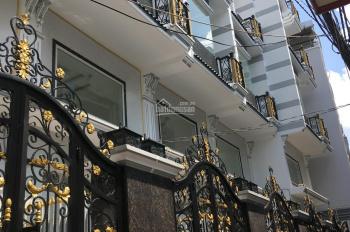 Bán nhà mặt tiền đường Hưng Phú, phường 8, quận 8, TPHCM. DT: 4x16m, 1 trệt, 4 lầu, giá: 6,9 tỷ/căn
