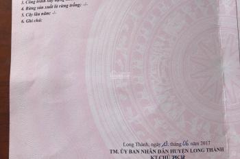 Ly hôn chia tài sản bán gấp lô đất 174m2 khu tái định cư Thái Lạc xã Long An, Long Thành, Đồng Nai