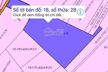 Bán đất giá tốt tờ 18 xã Vĩnh Thanh, cách TT Huyện Nhơn Trạch 2km, đường nội bộ Nguyễn Hữu Cảnh