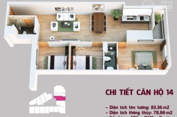 Bán lỗ căn 14 - Tầng 9 dự án Tháp Doanh Nhân Hà Đông. Liên hệ: 0968030985 (chủ nhà)