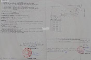 Cần bán lô đất hai mặt tiền đường Xuân Thới 7 thông từ Trần Văn Mười ra Quốc lộ 22