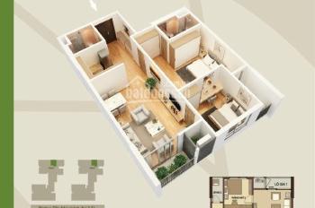 Bán cắt lỗ căn hộ 2 phòng ngủ 86m2 tòa C Mandarin Garden 2 Hòa Phát 99 Tân Mai. LH 0904.610.045