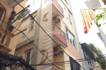 Cho thuê nhà riêng căn góc 2 mặt thoáng Nhân Hòa, Nhân Chính, 60m2 x 5 tầng, ngõ rộng ô tô đỗ cửa