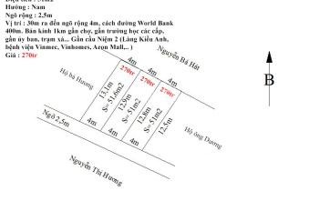 Siêu rẻ - Siêu đầu tư - 3 lô đất tại thôn Xích Thổ, xã Hồng Thái, huyện An Dương, Hải Phòng