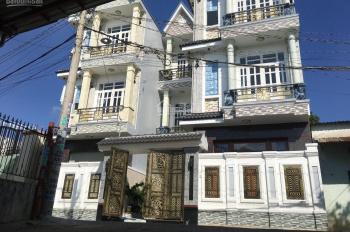 Cho thuê gấp căn nhà trong khu dự án 66 hecta P. Tân Hưng Thuận, Q12 có DT: 4m x 20m=15 tr/ 1th