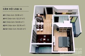 Cho thuê chung cư The Zen Gamuda - Hoàng Mai, 1 phòng ngủ nguyên bản Gamuda 6 triệu/th