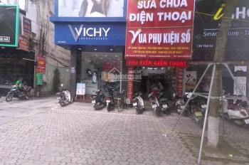 Cho thuê nhà MP Thái Hà DT 70m2*3T, MT 12m giá 111,305 triệu/th