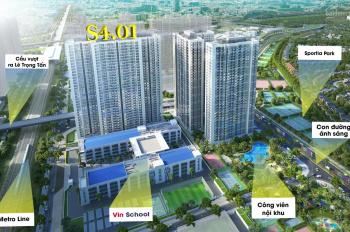 Gấp! Bán căn 2PN, 2WC tòa S4, 1,463 tỷ (giá gốc 1,814 tỷ), ký mới CĐT, Vinhomes Smart City