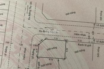 Bán đất Bình Trị Đông A, Bình Tân. DT 53.6m2