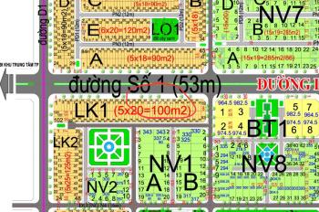 Cần bán lô đất dự án HUD, mặt tiền đường Lê Hồng Phong (53m), 24,5 triệu/m2, diện tích 100m2