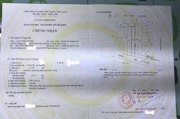 Bán nhà mặt tiền đường Bờ Bao Tân Thắng, DT: 8m x 30m, cấp 4, sổ hồng riêng. Gía: 31.2 tỷ