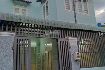 Bán nhà 1 lầu, 1 trệt, 3 phòng ngủ, đường Bà Triệu, Hóc Môn, DT: 6x10m, giá: 1,28 tỷ