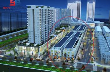 Nhà phố kết hợp dịch vụ thương mại Phú Mỹ An chiết khấu 7%, LH: 0796571878