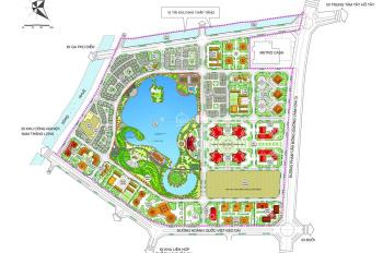 Tôi cần bán lô biệt thự mặt hồ khu đô thị Giao Lưu 240m2 tiện kinh doanh giá thỏa thuận