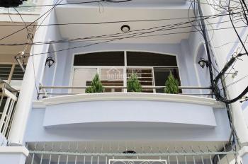 Cho thuê nhà MT đường 26A Bình Phú 1, trệt 2 lầu