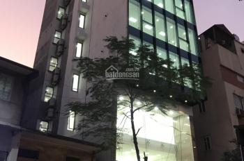 Cho thuê nhà mặt phố Nguyễn Khang, Cầu Giấy. DT 130m2, 7 tầng, mặt tiền 7,5m, giá 130 tr/th