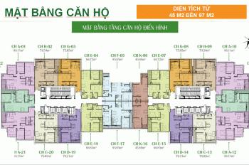 Gia đình tôi chính chủ cần bán căn A12 - 97m2, giá 2,7 tỷ chung cư Eco Dream, LH: 0931905666