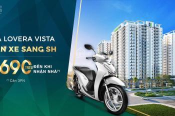 Lovera Vista Khang Điền, nhà rộng giá tốt nhận ngay xe SH 150I sở hữu căn hộ, hỗ trợ 0% lãi suất