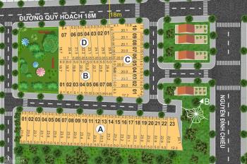 Mở bán dự án Nguyễn Đình Chiểu, P.Lộc Phát, TP.Bảo Lộc 580 triệu lô 110m2, đã có sổ đỏ xây tự do 2