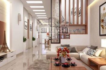 Nhà MT mới, đường Nguyễn Văn Đậu 4.5x25m trệt lửng 3 lầu (8 phòng lớn, 10 máy lạnh) giá 45tr/th TL