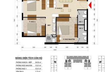 Hàng HOT - Chỉ 28tr/m2 bao phí 3PN 2WC - Căn hộ giá tốt mặt tiền Phạm Thế Hiển trung tâm Quận 8